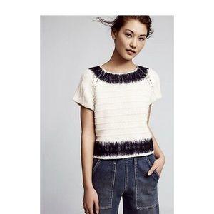 Anthropologie, Field Flowers, sweater, Size L